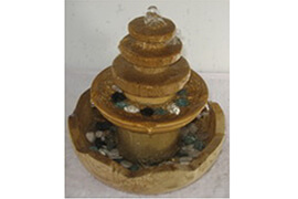 Fountain Pagoda Tiered Tower Water fountain Asian architectural style